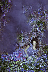 Wisteria Princess III (Daniela Majic) Tags: beauty fashion hair studio model purple smoke fineart makeup conceptual fashionshoot wisteria lilacs fairytales setdesign flowerwall smokebomb floralgown wallofflowers purplesmoke floralwall fairytalephotography danielamajicphotography smokeemitter flowergown fashionfairytales danielamajicsecretgarden