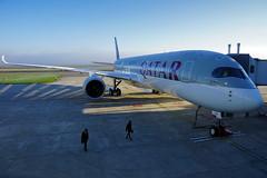 Airbus A350 XWB - Qatar Airways (David B. - just passed the 7 million views. Thanks) Tags: france airbus delivery toulouse qatar qatarairways delivered hautegaronne midipyrénées livraison airbusa350 a350 a350xwb a350900 airbusa350900xwb airbusa350xwb