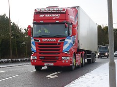 SN14 HVS (Cammies Transport Photography) Tags: road truck transport lorry carnegie livingston scania hvs jhp r580 sn14 sn14hvs