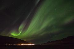 September 24th in Faskrudsfjordur (*Jonina*) Tags: longexposure sky night iceland village 500views ísland northernlights auroraborealis 1000views nótt himinn norðurljós 50faves 25faves fáskrúðsfjörður faskrudsfjordur þorp jónínaguðrúnóskarsdóttir september24th2014