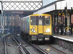 Merseyrail 508117 (North West Transport Photos) Tags: port train liverpool br central rail railway birkenhead trainstation emu british britishrail pep 117 508 ellesmere brel merseyrail merseytravel birkenheadcentral 64665 mpte class507 class508 merseyrailelectrics 71499 508117 64708 508017