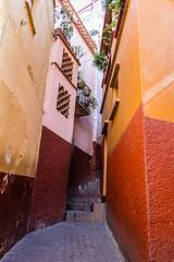Callejn del Beso (Elbuenmai) Tags: city travel mxico ciudad viajes guanajuato tunel tuneles callejon callejones