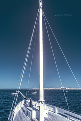 Old Ketch (Jason Whittle Photography) Tags: seascape sailboat bay bow sa mast woodenboat ultraviolet cutter fs ketch portlincoln hecla fullspectrum sawoodenboats saboats