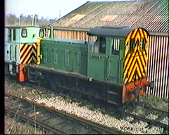 Tolworth Coal Concentration Depot 1984 (davids pix) Tags: yard concentration diesel 04 1984 depot coal shunter tolworth minersstrike d2246 colmec 22041984