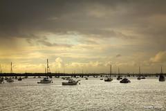 River Deben, Felixstowe, Suffolk (shawn~white) Tags: england beach water coast boat suffolk place unitedkingdom felixstowe bawdsey