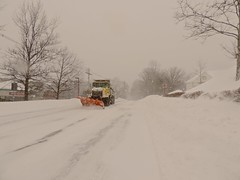 Snow Plow - Version 2 (Barbara L. Slavin) Tags: snow geotagged newengland creativecommons blizzard framingham blizzard2015