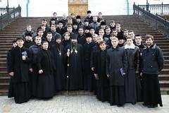 182. Еп. Арсений с киевскими семинаристами 2009 г