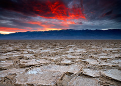 Pieces of a Badwater Sunset (David Shield Photography) Tags: california light sunset sky color clouds landscape nationalpark nikon desert explore deathvalley badwaterbasin deathvalleynationalpark explored singhray
