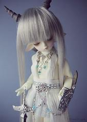 Caprice (Ebony Dragon) Tags: doll goat bjd soom ai gem capricorn teenie