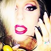 Vodka chilled three olives thats how LADY GAGA rolls #Oscars #Oscars2015 #lipstick #nails #olives #hair #singer #style #bling #party #ladygaga