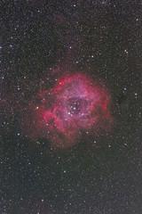 The Rosette Nebula (arnejacobsen999) Tags: ngc nebula rosette monoceros fsq85ed