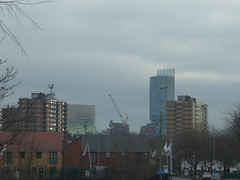 Photo of Beetham Tower from Lower Broughton