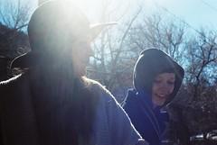 Kia and Mandi (malinda fisher) Tags: girls slr film playground 35mm lava picnic minolta idaho hotsprings malindafisher