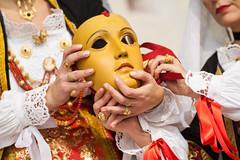 Il volto del Divino (alecani) Tags: alecani alessandrocani cagliari 2015 sardegna sardinia sardinien carnevale carnival tradizionale tradition tipico maschera mask sartiglia oristano giostramedievale medieval cavaliere knight 1000