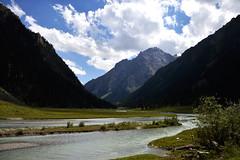 28 - Time to float in floating time. (onesecbeforethedub) Tags: travel mountain mountains travelling trekking trek hiking manipulation images technical imagination traveling kyrgyz kyrgyzstan lunar lanscape flusser vilem