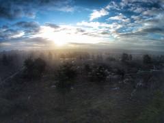Stoke Common (taylor.timtaylor) Tags: mist sunrise buckinghamshire phantom slough stokepoges dji stokecommon