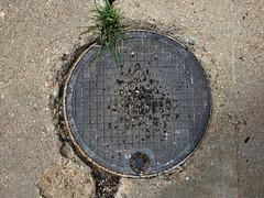 Santa Fe, New Mexico (lotos_leo) Tags: travel summer newmexico santafe cover manhole nm  crossamerica   crossamerica2014