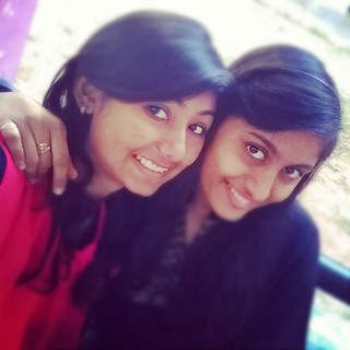 #sisters #bestiieess #milky #titi #cutiee #angels