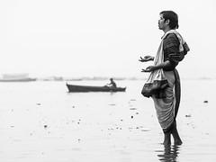 Sin-eating Ganges, Varanasi - Uttar Pradesh (adde adesokan) Tags: street travel people india photography asia streetphotography olympus zuiko rajasthan omd em1 mft microfourthirds
