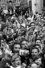 Sant Antoni a Art 2015.  Completes (Dani Alvarez Caellas) Tags: people blackandwhite bw blancoynegro church monochrome photography gente candid religion crowd traditions folklore multitud mass mallorca missa misa blancinegre santantoni arta culturapopular balears esglesia completes crowdsinging