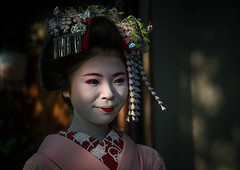 Portrait of a 16 years old maiko called chikasaya, Kansai region, Kyoto, Japan (Eric Lafforgue) Tags: 1617years 1people apprentice asia asian beautiful beauty chikasaya closeup clothing colorful colourpicture culture elaborate eyes face female feminine geisha gion grace hair hairstyle headwear horizontal japan japan161721 japanese japaneseethnicity kanzashi kimono komayaokiya kyoto maiko makeup oneperson oneyoungwomanonly oriental painted portrait pretty solitary sun teen teenager tradition waistup white woman young youngadult youngwoman kansairegion giappone 일본 日本 japão japonia japonsko japonya jepang jepun اليابان япoнияяпoнія ญี่ปุ่น wistaria