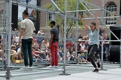 Compagnie Dyptik - D - Construction (c) Henry Krul (Henry Krul) Tags: dance construction outdoor d henry op hip hop dans krul deventer straattheater streettheatre 2016 stelten dyptik