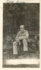 Scan_20160716 (7) (janetdmorris) Tags: world 2 history monochrome century america vintage army hawaii us war pacific military wwii grandfather monochromatic front 1940s ii ww2 granddaddy forties 20th usarmy allies allied