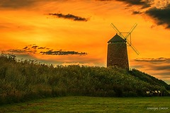 rise before the fall (MC Snapper78) Tags: building windmill architecture sunrise landscape scotland fife firthofforth stmonans eastneuk nikond3300 marilynconnor
