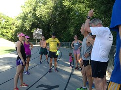 Monday night track workout discussion