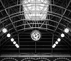 Reminder (Beetwo77) Tags: fuji 90mm f2 portrait central station nsw architecture interiors flip fake timetable ruined heritage