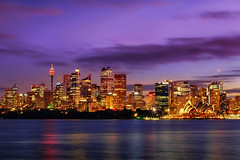 Cremorne Point Sydney (tonyg1494) Tags: cremornepointsydney cremornepoint water ocean clouds architecture lights longexposure waterscape travel photography dusk evening coastline tourism trip world sky sydney nsw australia nikon18300mm nikond5300