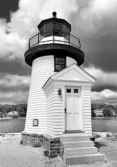 Old Mystic Lighthouse-Mystic Connecticut (P4ul63312) Tags: mystic seaport newengland coastal lighthouse history shipping maritime museum