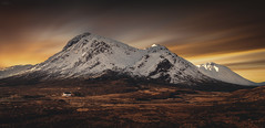 Glencoe, March 2016 (Iain Brooks) Tags: glencoe scotland mountains long exposure landscape sunset sunrise rannoch moor nikon clouds movement uk
