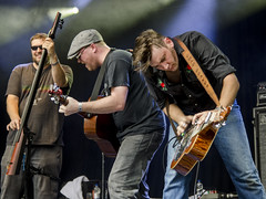 The Hillbenders (1hr photo) Tags: larmertreefestival thehillbenders countrymusic bluegrass stringband banjo guitar doublebass dobro mandolin chadgraves nolanlawrence markcassidy jimrea garyrea tommy thewho