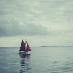Set sail ! (Alexandre DAGAN) Tags: entreleouessantetleconquet merdiroise finistère bretagne france panasoniclx100 panasonic lx100 dmclx100 carré square cuadro couleur colorcolour ocean atlantique mer sea bateau boat sail voiles