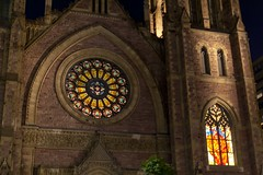 IMG_6978 (diverse elements) Tags: 50mmf12 5d2 canon montrealqc church downtown window