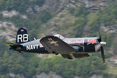 hunting (picturesbywalther) Tags: f4u4 corsair hunt jagd flug flight airshow aircraft flugzeug old oldtimer meets zigermeet mollis