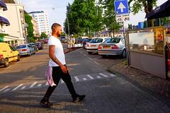 DSCF1451.jpg (amsfrank) Tags: amsterdam oost people candid summer sunshine amstel weesperzijde ober waiter