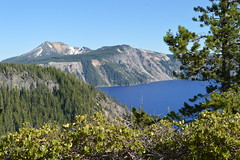 Crater Lake, Oregon (David A's Photos) Tags: crater lake oregon craterlakenationalpark july2016 volcano caldera national park cascade mountains volcanic blue volcanoes