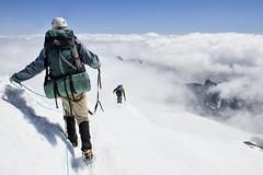 Eldorado Peak, Washington (Kevin Machtelinckx) Tags: mountain climb adventure northcascades washington pacificnorthwest alpine alpinism mountaineer mountaineering glacier crevasse ropes canon 7d cirque