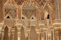La Cour des lions, Palais Nasrides, Alhambra, Granada, Andalucia, Espana (claude lina) Tags: claudelina espana spain espagne andalucia andalousie granada grenade ville town architecture alhambra palaisnasrides courdeslions