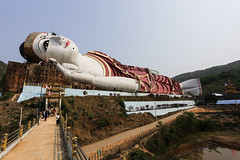 Little Bouddha (Ye-Zu) Tags: voyage trip burma bouddha myanmar worldtour birmanie tourdumonde monstate mawlamyine myanmarbirmanie