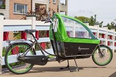WorkCycles Kr8 Grey-Green-1 (@WorkCycles) Tags: family dutch amsterdam bike bicycle box transport bak cargobike bakfiets bakfietsen workcycles kr8