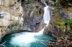 Johnston Creek Lower Falls (TheReilDeal) Tags: banff banffnationalpark johnstoncanyon johnstoncreek lowerfalls