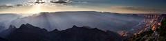 Desert View sunset (Michael_Whitehead) Tags: sunset panorama usa nationalpark view desert stitch grandcanyon grand canyon coloradoriver