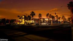 Sunset at Highway 74, Palm Desert, CA (Nikola Miljkovic) Tags: sunset streets city sky hd cars