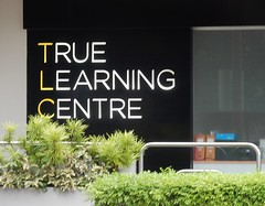 True Learning Centre (mikecogh) Tags: sign singapore tlc acronym truelearningcentre