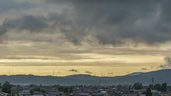 Sky dyed golden (Nobuyuki Ikeda) Tags: sunset sky japan landscape sony  toyama      tonami      nex6