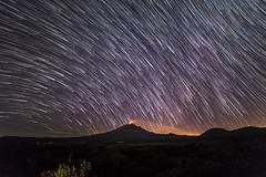Star Trail Popocateptl (Bravo Fotografia) Tags: star stars startrail trail estrellas popocateptl popo cosmos universo mexico