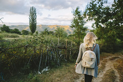 The Macedonian Mountain Path (jensrosengren) Tags: macedonia bitola babamountains julia walkingwithgirlfriend vineyard